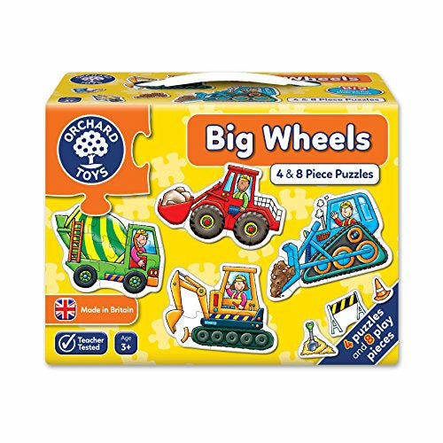 Orchard Toys Big Wheels Jigsaw Puzzle - Very Good