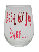 Load image into Gallery viewer, Liz's Custom Creations, Stemless Wine Glasses