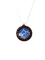 Load image into Gallery viewer, Tonic for the Soul, Large Wood Resin Pendant