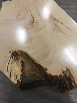 Nature's Living Edge Gems- Alberta Maple Live Edge Coffee Table In Store Pick up Only