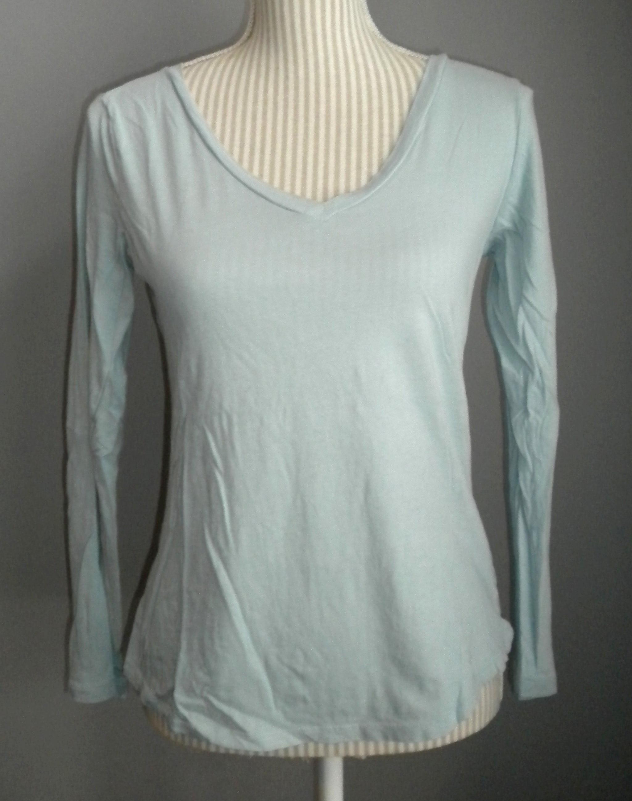 6a1173309c107d OLD NAVY RELAXED FIT TOP LS LADIES XS VGUC/EUC