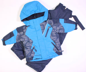NORTHPEAK 2 PIECE SNOWSUIT 2YR EUC