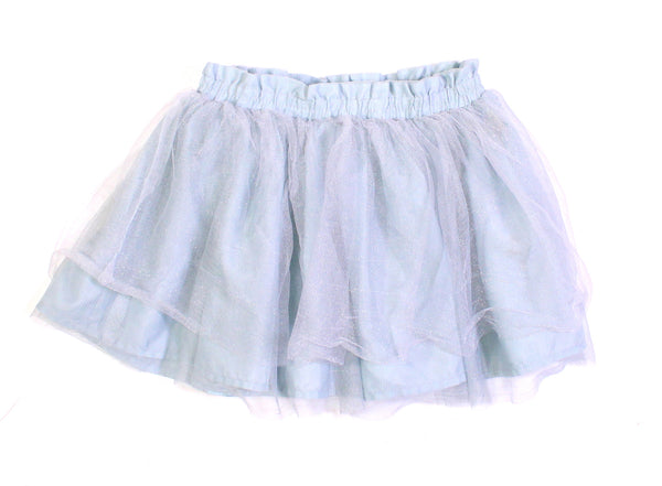OLD NAVY BLUE TULLE SKIRT 3T VGUC