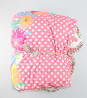 MATILDA JANE SUPER SOFT BLANKET O/S EUC