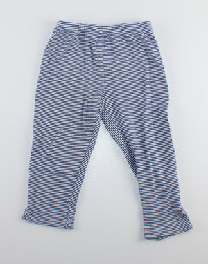 CARTERS STRIPED LEGGINGS 24M VGUC