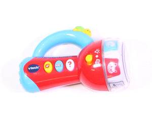 VTECH SPIN AND LEARN COLOUR FLASHLIGHT TOY VGUC