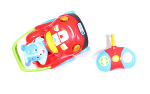 VTECH CAR AND REMOTE TOY VGUC