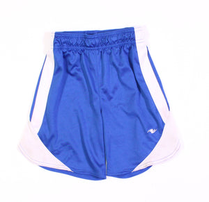 ATHLETIC WORKS BLUE SHORTS 4Y GUC