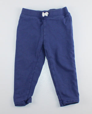 CARTERS NAVY TRACK PANTS 24M VGUC
