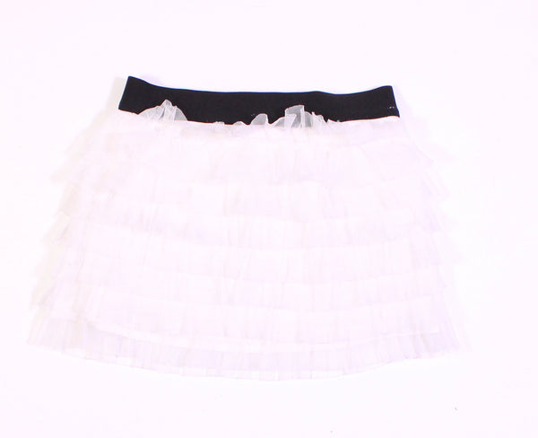 JOE FRESH WHITE TULLE SKIRT APPROX 3T VGUC