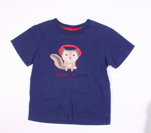 JOE FRESH NAVY TEE 3T EUC