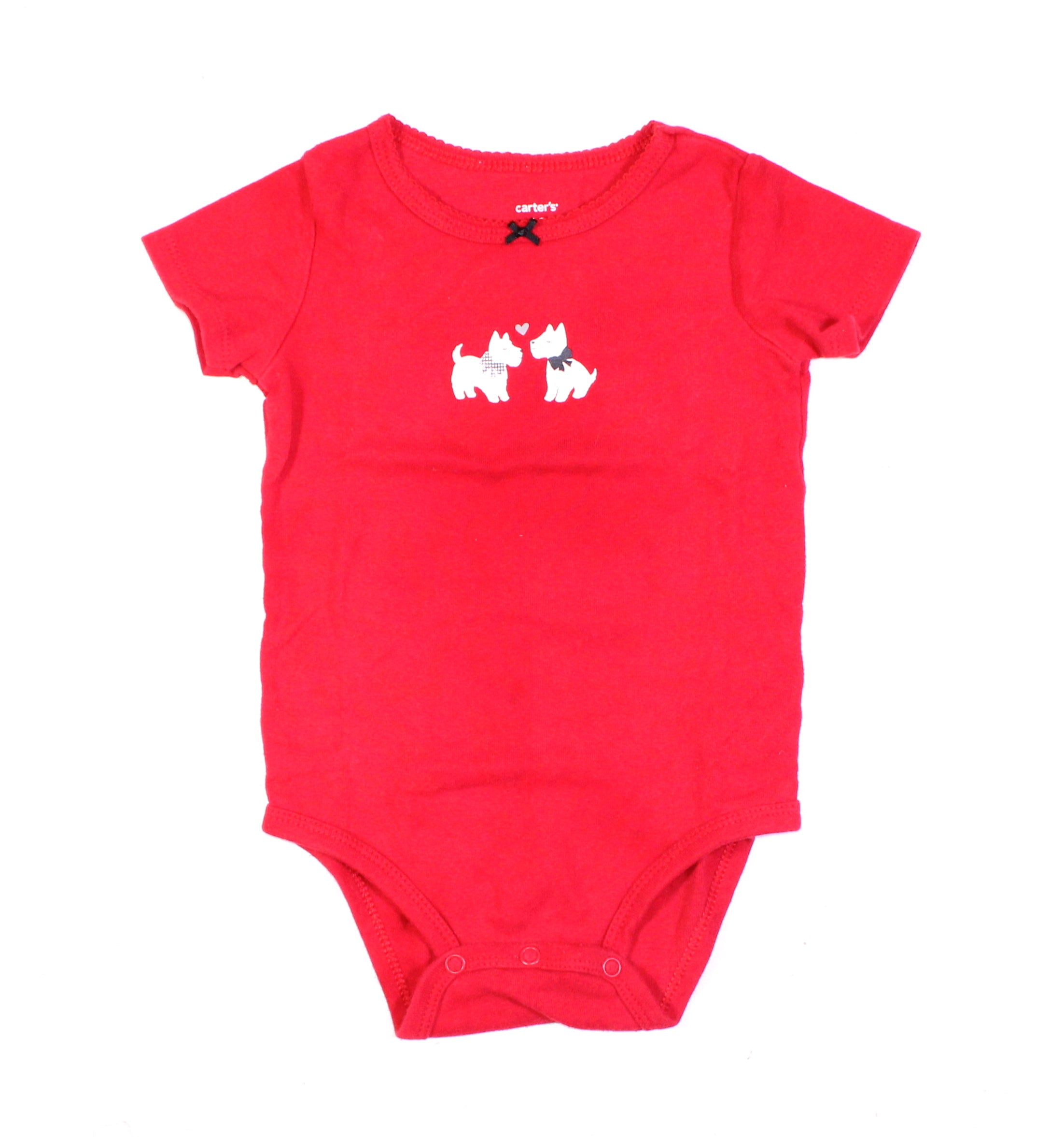 CARTERS RED ONESIE 18M EUC