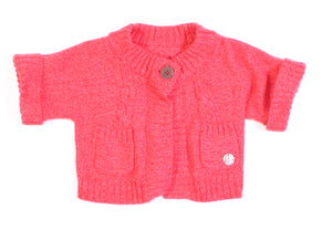 MEXX ORANGE SWEATER SMALL (APPROX 1-2Y) EUC