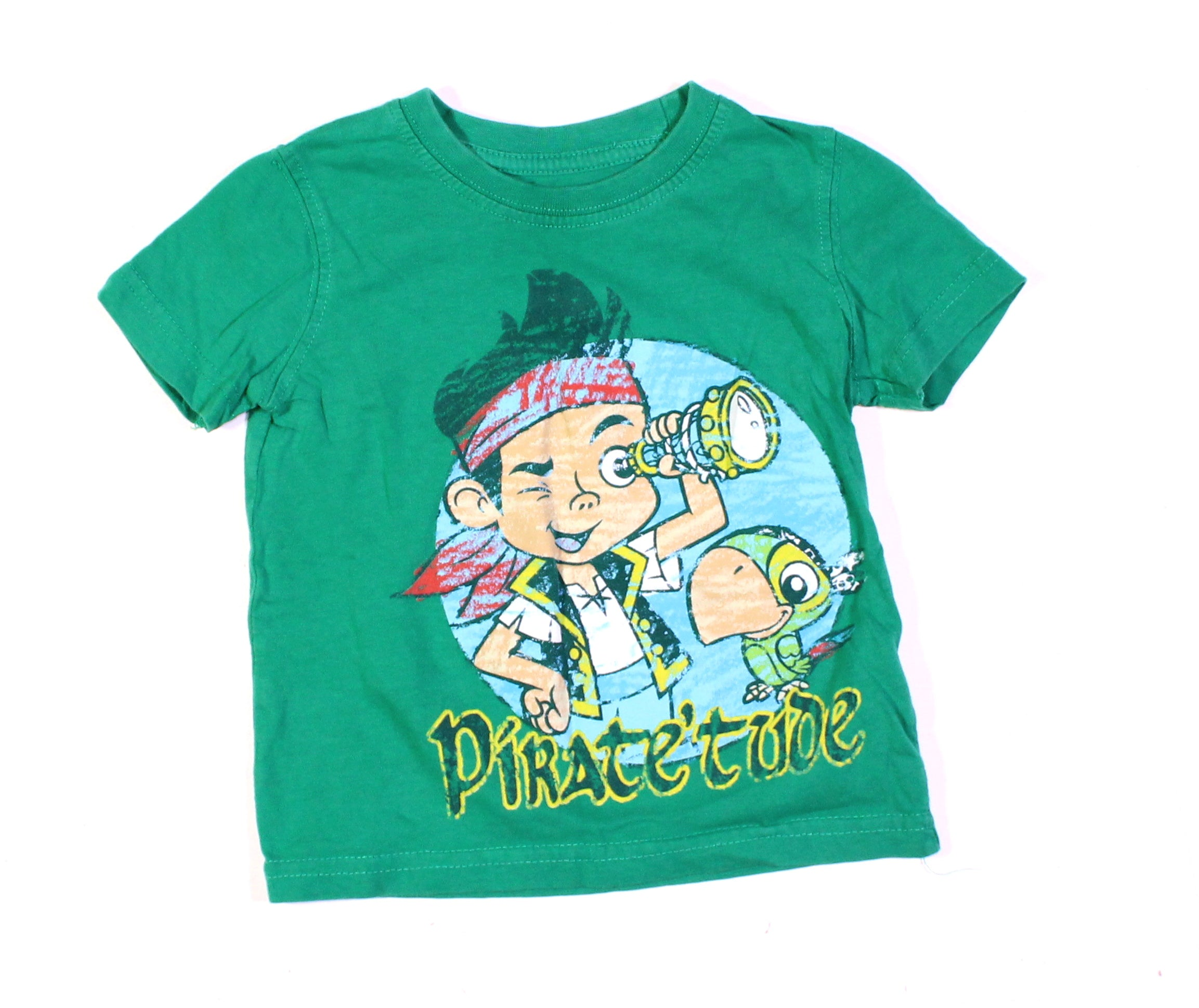 JAKE AND THE PIRATES GREEN TOP 18M EUC