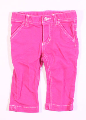 CARTERS PINK JEANS 2T VGUC