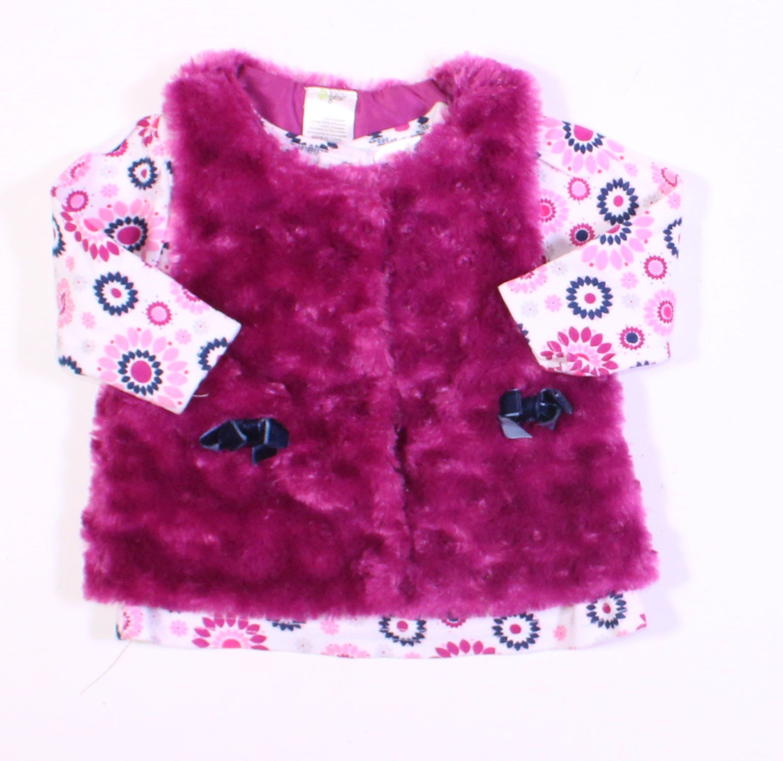 BABY GEAR VEST & TOP SET 3-6M EUC