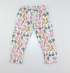 CARTERS HOLIDAY LEGGINGS 18M VGUC