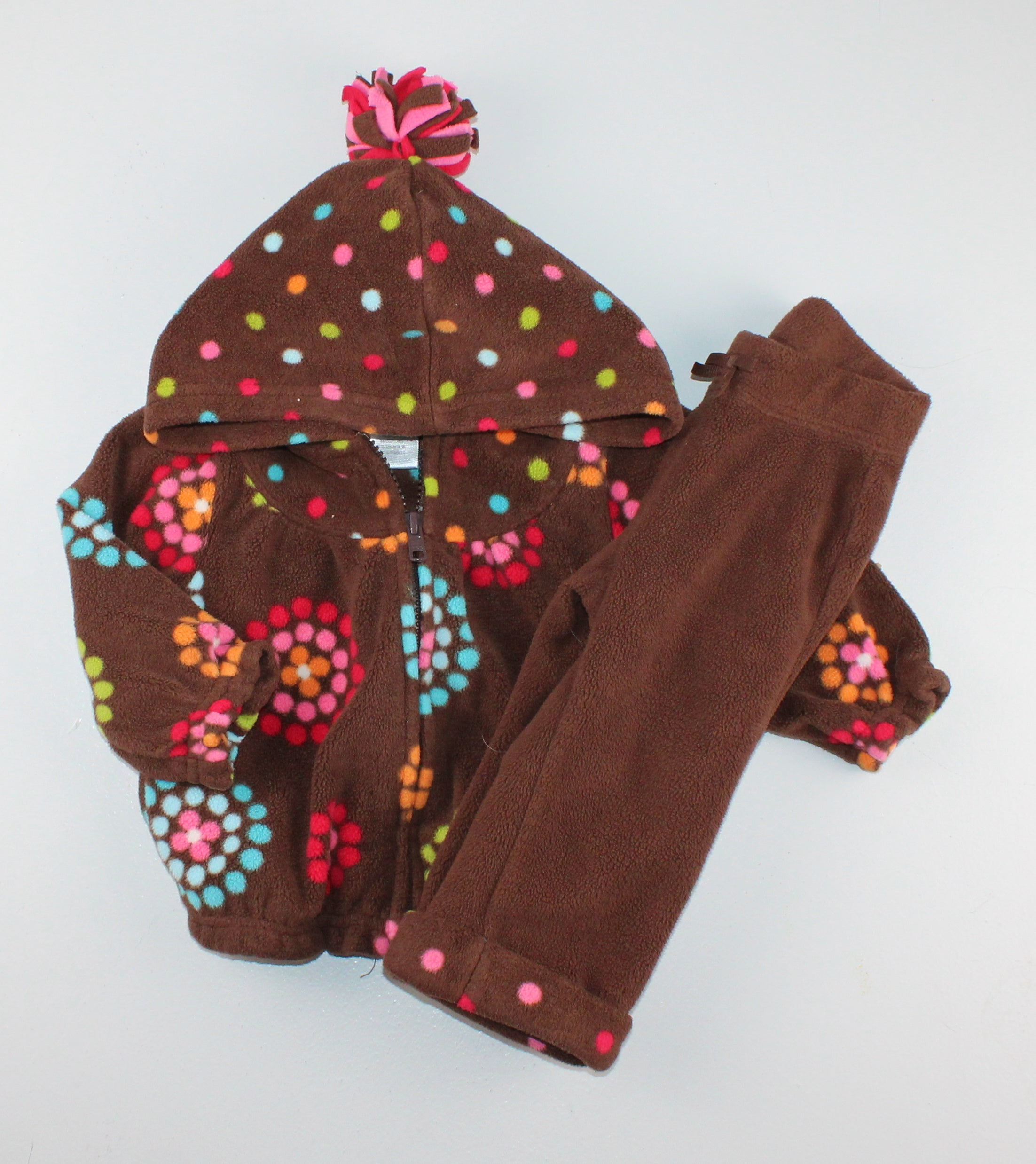 GYMBOREE FLEECE OUTFIT 6-12M EUC