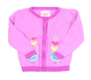 OSH KOSH PURPLE SWEATER 24M VGUC
