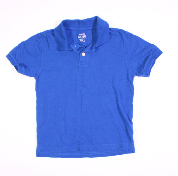 TCP BLUE GOLF SHIRT 7-8YR VGUC