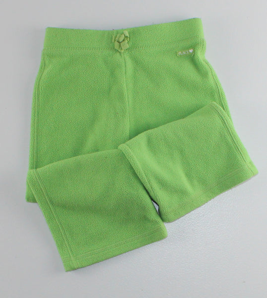 TCP GREEN FLEECE PANTS 3T VGUC