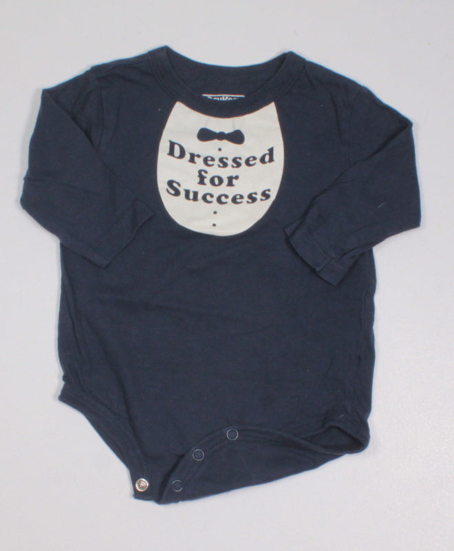 OSH KOSH NAVY SUCCESS ONESIE 12M VGUC