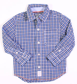 CARTERS CHECKED SHIRT 2YR EEUC