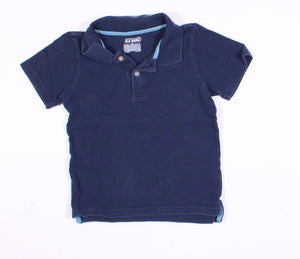 OLD NAVY BLUE SL TOP 4T VGUC