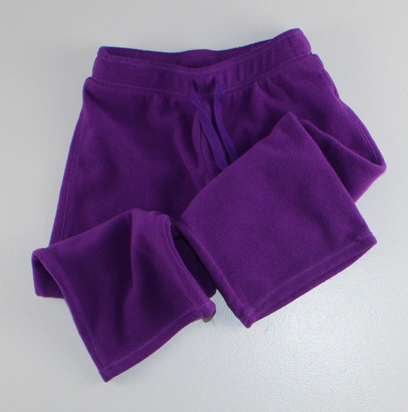 OLD NAVY PURPLE FLEECE PANTS 3T VGUC