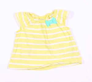 CARTERS YELLOW TEE 3M EUC