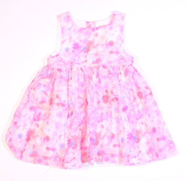 JOE FRESH FLORAL DRESS 18-24M EUC