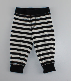 GEORGE NAVY STRIPED PANTS 6-12M EUC