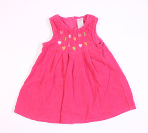 GYMBOREE CORDUROY JUMPER DRESS 2T EUC/VGUC