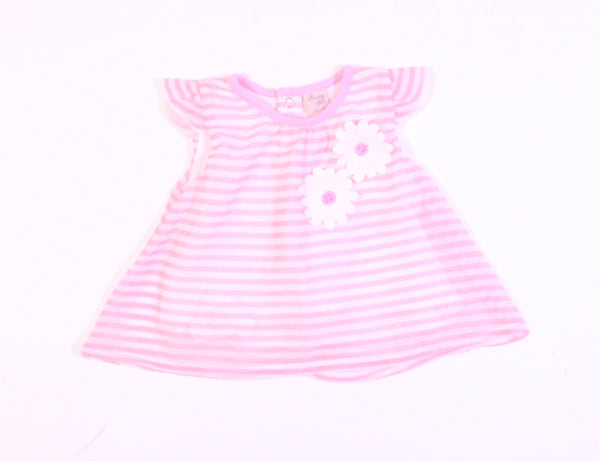 BOUNY BABY PINK LONG TOP/DRESS 3M VGUC