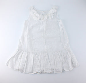 GEORGE BLACK RUFFLE TOP 6M EUC