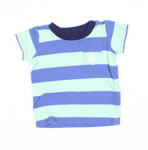 CARTERS TEAL AND BLUE TOP 3M EUC