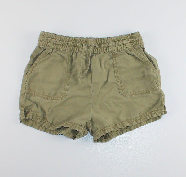 DENIM CO GREEN SHORTS 3-4Y EUC