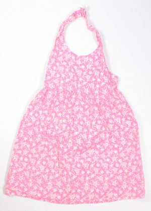 OLD NAVY PINK HALTER DRESS 4T VGUC