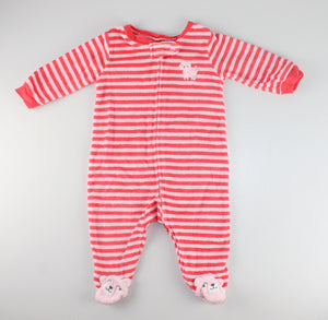 CARTERS TERRI KITTY PJS 3M VGUC