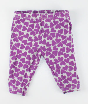 OSH KOSH HEART LEGGINGS 3M EUC