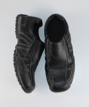 GEORGE BLACK ADULT SHOES SIZE 9 EUC