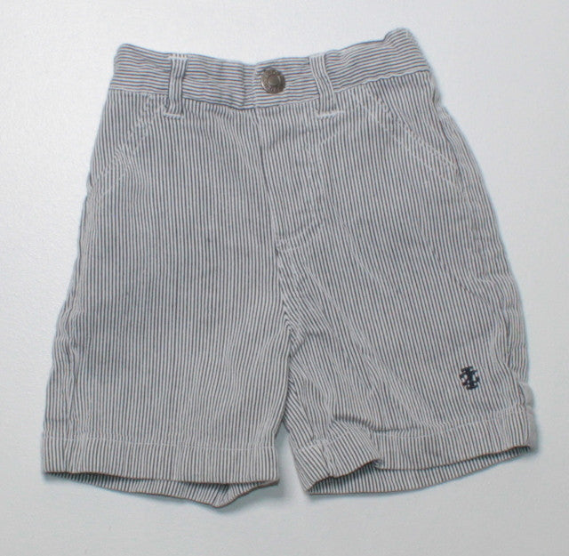 IZOD STRIPED SHORTS 3-6M EUC