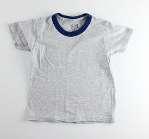 FRUIT OF THE LOOM GREY TEE APPROX 3-4Y VGUC