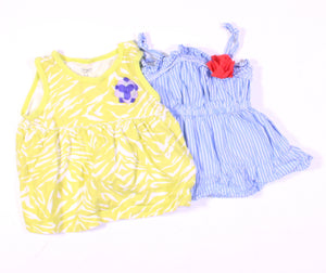 CARTERS 2 SUMMER TOPS 12M EUC