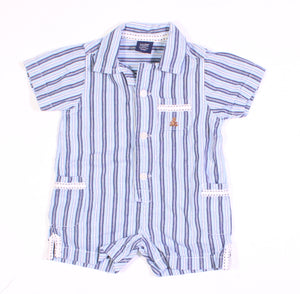 GAP STRIPED OUTFIT 0-3M VGUC