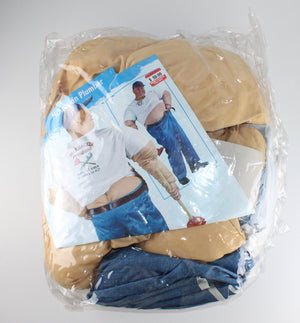MCKRACKIN PLUMBER ADULT COSTUME FITS MOST UP TO 200LBS