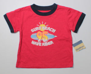 OSH KOSH RED TEE 3M NEW!