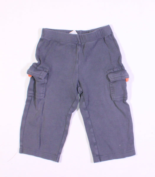 CARTERS GREY PANTS 12M VGUC