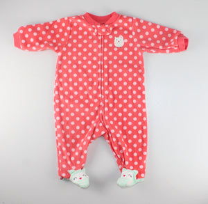 CARTERS FLEECE PJS 3M VGUC