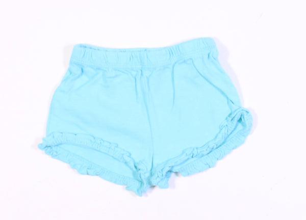 GEORGE BLUE SHORTS 3-6M EUC